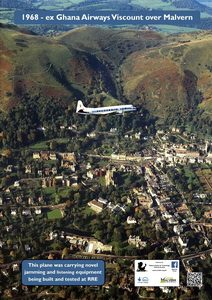 Plane over Malvern 1968_resize